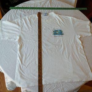 Vintage senor frogs 1990s t-shirt xxx white green